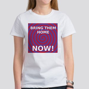 Women's Tee White Bring Them Home Now!