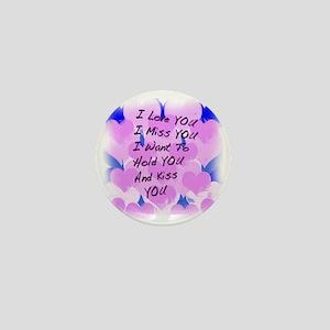 heart painting copy Mini Button