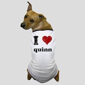 heartquinn_black Dog T-Shirt