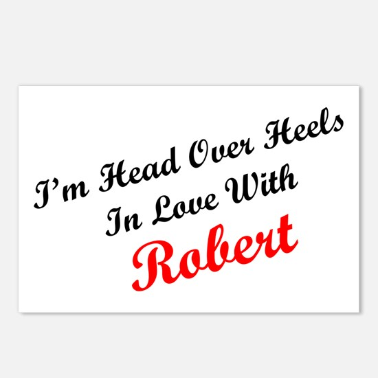 In Love with Robert Postcards (Package of 8)