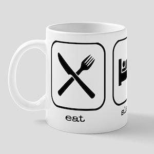 2-Eat Sleep Golf Mug