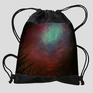 Spacious Sky Drawstring Bag