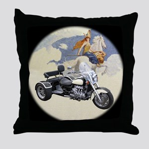 AB12 C-MOUSE VAL BW Throw Pillow