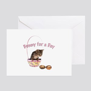 Bunny for a Day Greeting Cards (Pk of 10)