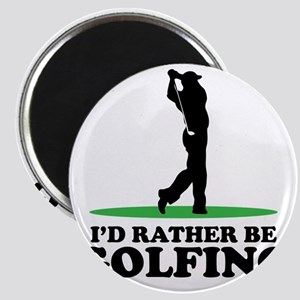 Id Rather Be Golfing Magnet