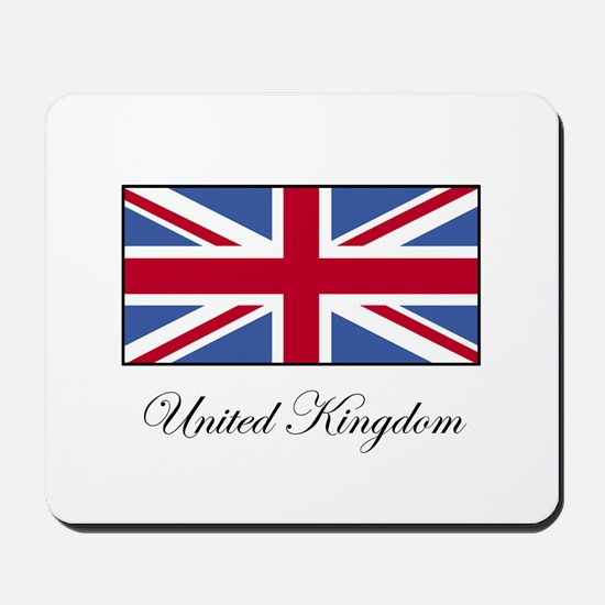 UK - United Kingdom Mousepad