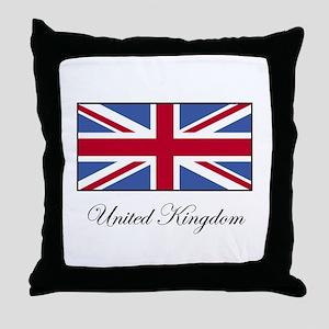 UK - United Kingdom Throw Pillow