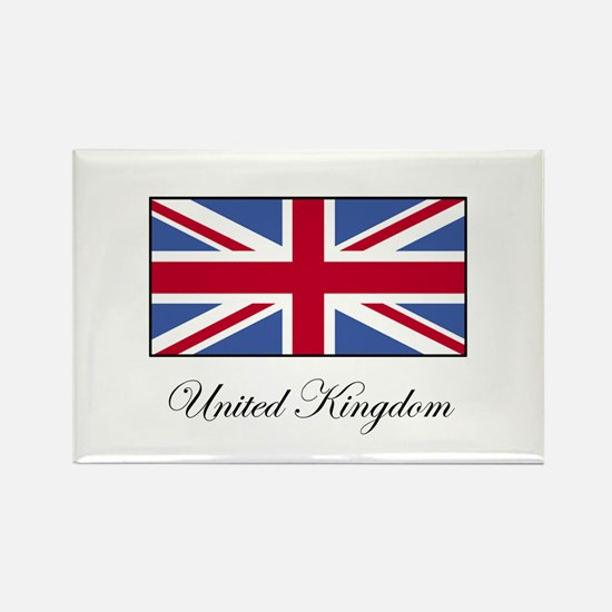 UK - United Kingdom Rectangle Magnet