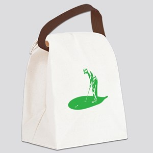 A Golfer's Diet copy Canvas Lunch Bag