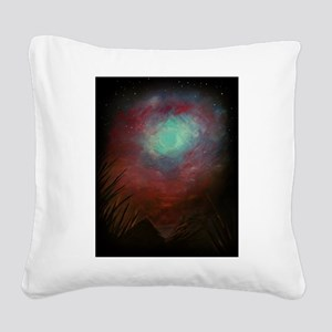 Spacious Sky Square Canvas Pillow