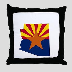 arizona3w Throw Pillow