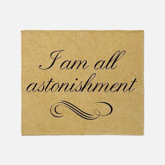 i-am-all-astonishment_12x18 Throw Blanket