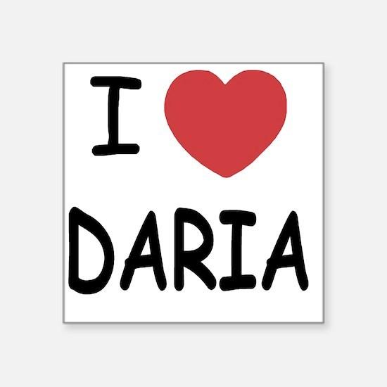 """DARIA01 Square Sticker 3"""" x 3"""""""
