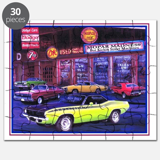 Mopar Car Dealer Puzzle