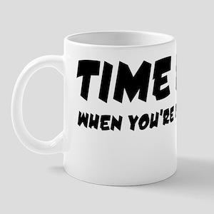 Time flies W Mug