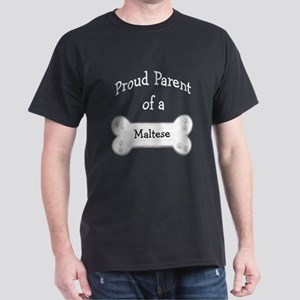 Maltese Proud Parent Dark T-Shirt