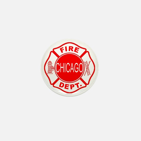 cfd maltese outline filled in fire dep Mini Button