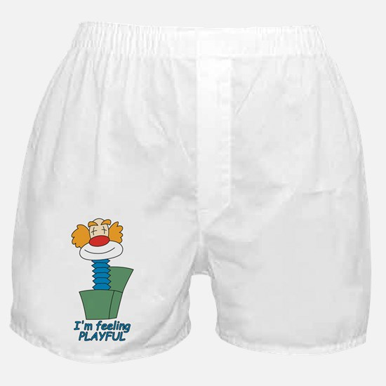 I'm feeling playful Boxer Shorts