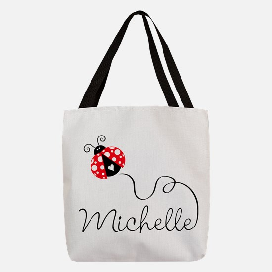 Ladybug Michelle Polyester Tote Bag