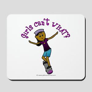 Dark Skateboarding Mousepad