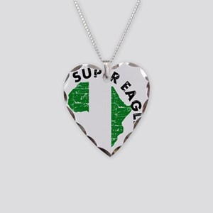 african soccer designs Necklace Heart Charm