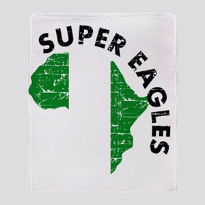 african soccer designs Throw Blanket