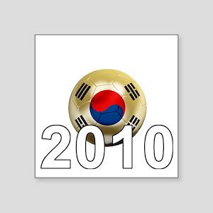"""Korea Republic World Cup 9B Square Sticker 3"""" x 3"""""""