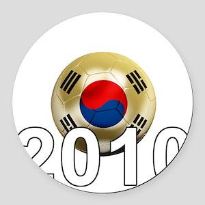 Korea Republic World Cup 9Bk Round Car Magnet