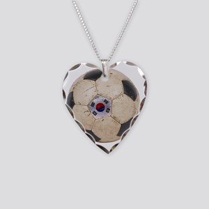 Korea Republic World Cup 4 Necklace Heart Charm