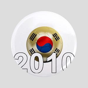 """Korea Republic World Cup 9Bk 3.5"""" Button"""