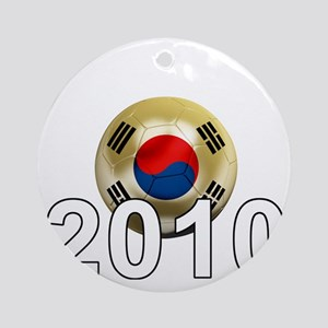 Korea Republic World Cup 9Bk Round Ornament