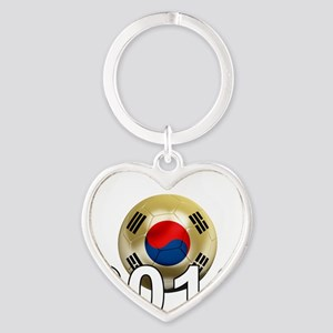 Korea Republic World Cup 9Bk Heart Keychain