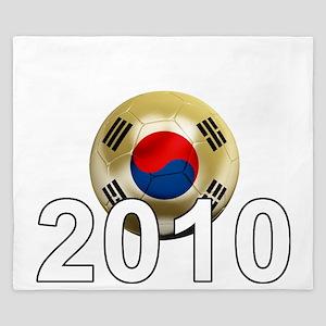 Korea Republic World Cup 9Bk King Duvet