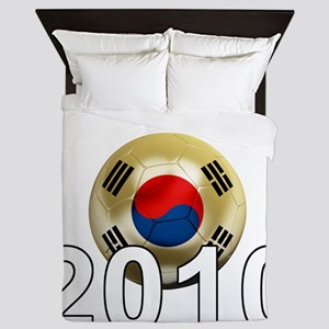 Korea Republic World Cup 9Bk Queen Duvet