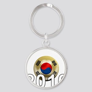 Korea Republic World Cup 9Bk Round Keychain