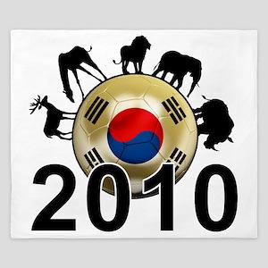 Korea Republic World Cup 9 King Duvet