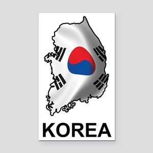 SouthKorea2 Rectangle Car Magnet