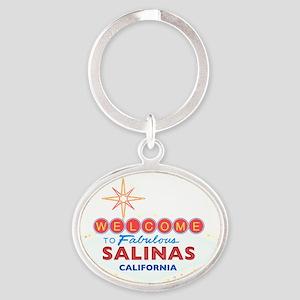 SALINAS Oval Keychain