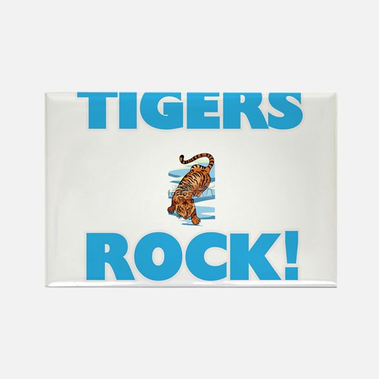 Tigers rock! Magnets