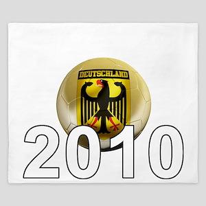 Germany Football5Bk King Duvet