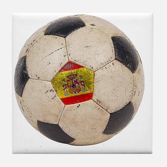 Spain Football3 Tile Coaster