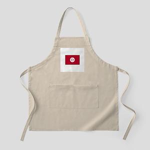 Tunisian Flag BBQ Apron
