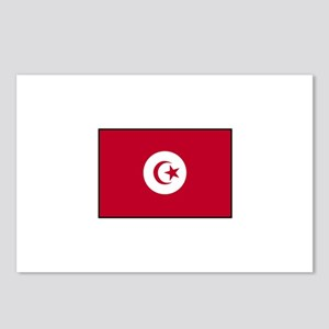 Tunisian Flag Postcards (Package of 8)