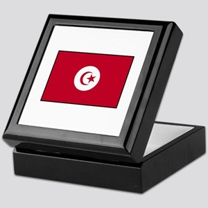 Tunisian Flag Keepsake Box