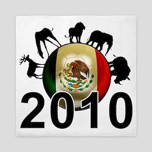 Mexico World Cup 4 Queen Duvet