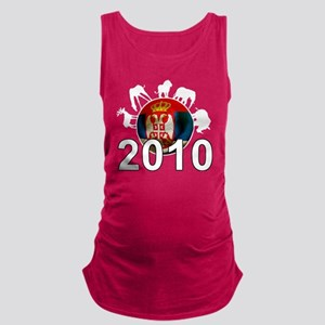 Serbia Football2Bk Maternity Tank Top