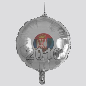 Serbia Football2Bk Mylar Balloon