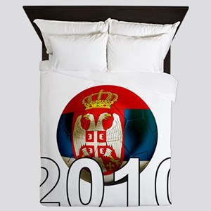 Serbia Football2Bk Queen Duvet