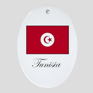 Tunisia Oval Ornament