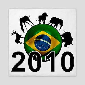 Brazil Football6 Queen Duvet